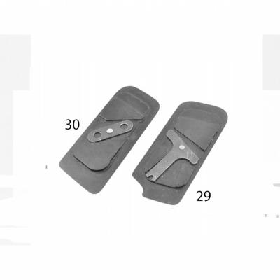29Планка закрепляющая для левой щечкидля ТТК и ТТК-ДФ